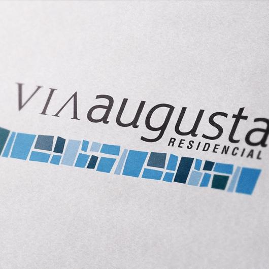 Marca grafica Vía Augusta Residencial